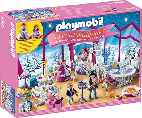 PLAYMOBIL Adventskalender Weihnachtsball im Kristallsaal (Vorderseite)