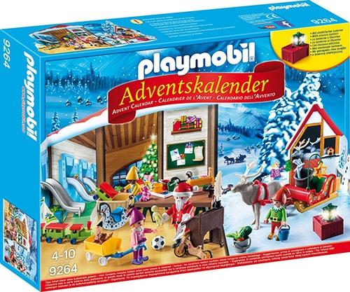 PLAYMOBIL Adventskalender Wichtelwerkstatt (Vorderseite)