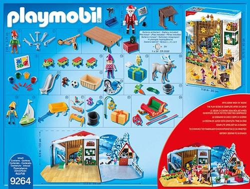 PLAYMOBIL Adventskalender Wichtelwerkstatt (Inhalt)
