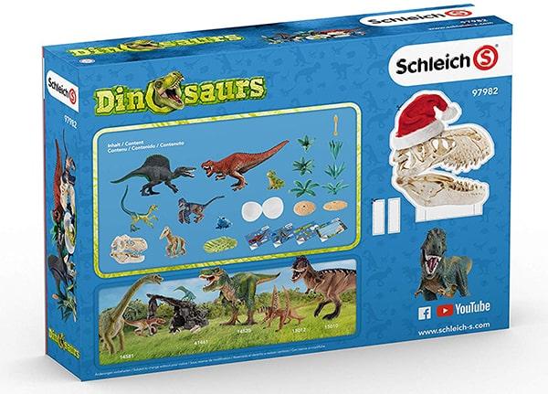 SCHLEICH 97982 Dinosaurs 2019 Adventskalender Inhalt