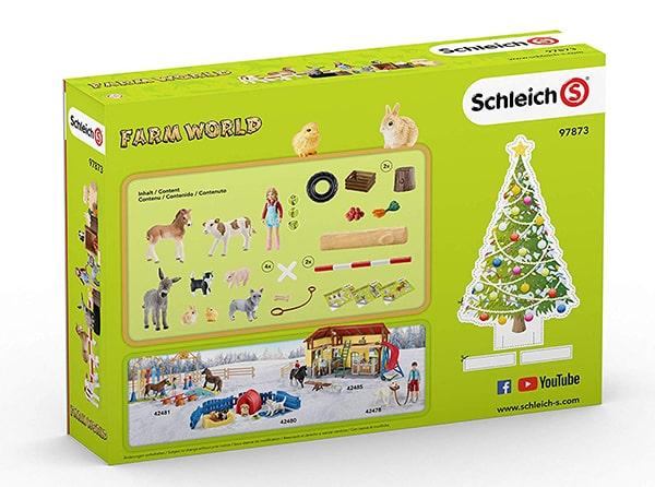 Schleich Farm World Adventskalender Inhalt
