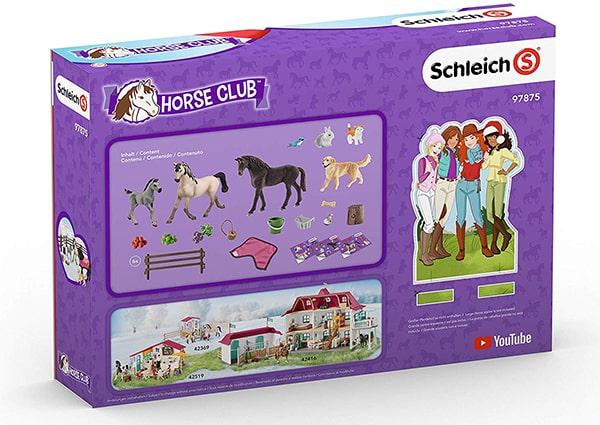 SCHLEICH 97875 Horse Club 2019 Adventskalender Inhalt