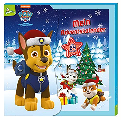 Paw Patrol Minibuch Adventskalender