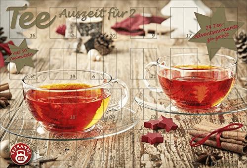 Teekanne Adventskalender für Zwei