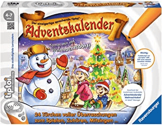 Tiptoi Adventskalender - Das Weihnachtsdorf