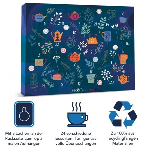 FROG.coffee Tee-Adventskalender 2020