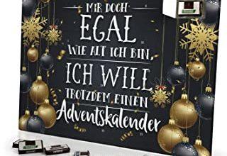 Mir doch egal Adventskalender 2020 - Schoko-Kalender mit Spruch