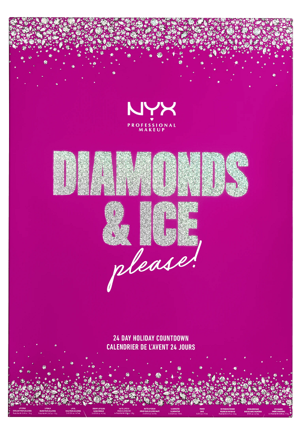 NYX Professional Makeup Advent Calendar 24 Days - Diamonds And Ice Please 2020