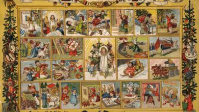 Bild von Die Geschichte des Adventskalenders